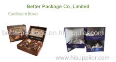 food cardboard packaging boxes