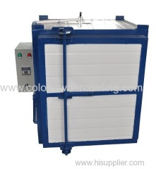automotive paint electric oven