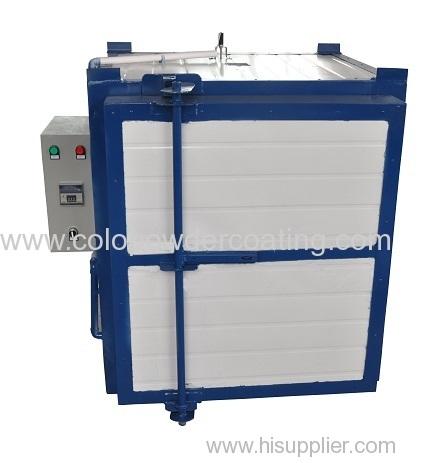 automotive paint electric oven