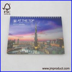 2014 calendar with spiral