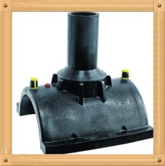 2013 hot sale HDPE Electrofusion Tapping Saddle HDPE water supply fittings from China