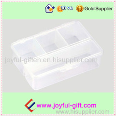 Big Plastic Transparent 4 Case Pill Box Promotion