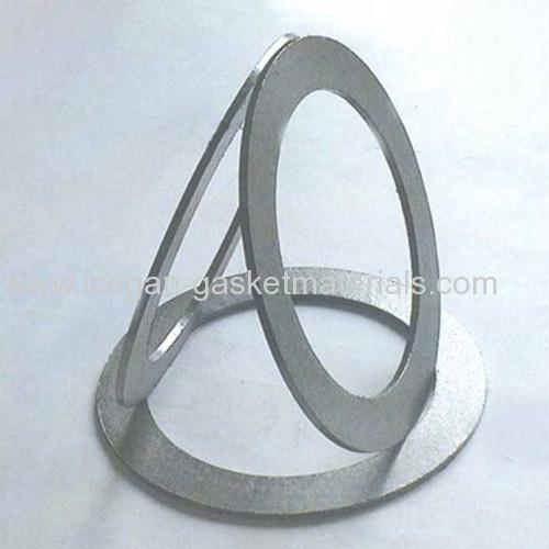 Pure graphite composite gasket