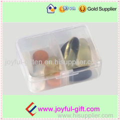 Promotional Plastic Portable 2 Case Medicine box