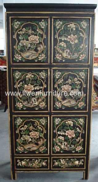 Tibetan antique reproduction cabinet