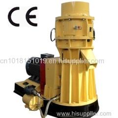 flat die wood sawust pellet press