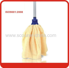 Eco-Friendly Yellow and Blue Microfiber water mop