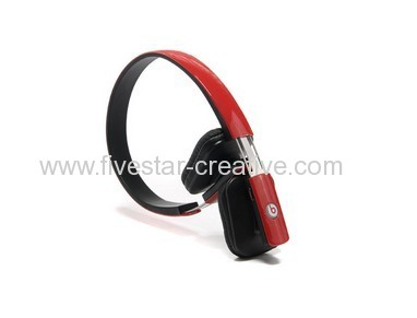 2013 Monster Beats by Dr.Dre DS610 Stereo Bluetooth Over-Ear Headphones Red