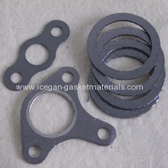 Graphite composite plate gasket