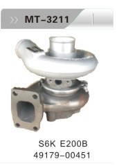 S6K E200B TURBOCHARGER FOR EXCAVATOR