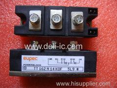 TT162N - Netz-Thyristor-Modul Phase Control Thyristor Module - eupec GmbH