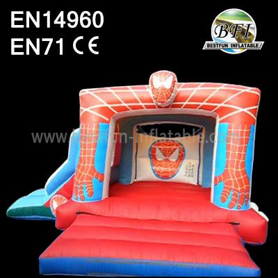Inflatable Spiderman Bounce Slide