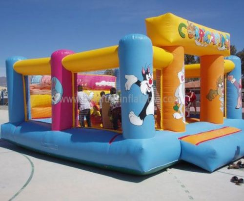 Mechanical Foam Party Magic Jump Inflatables