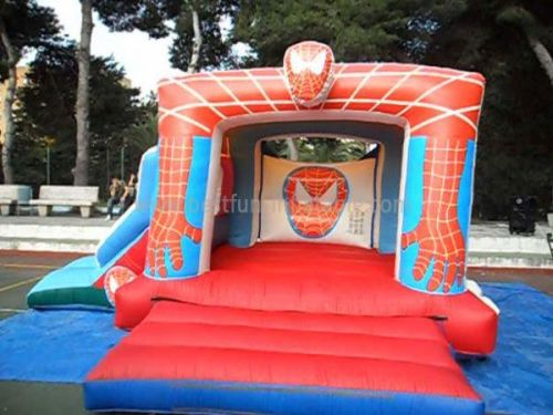 Pary Fun Inflatable Spiderman Bouncer Combo
