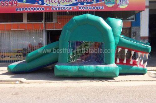 Green Alligators Jumpy Inflatables