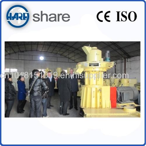 Efficent wood granulator machine