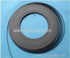 6.35mm*0.635mm/12.7mm*0.9mm Ir-Ta Oxide Coated Titanium Ribbon