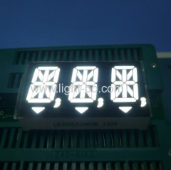 white 14 segment led display;white alphanumeric led display