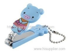 Hot stamping film for plastic nail clipper