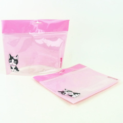 custome plastic ziplock bag stand up pouch