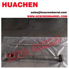 PVC extruder screw barrel