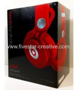 New Beats by Dre Mixr Headphone Red