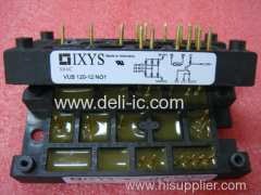 VUB120-12NO1 - Three Phase Rectifier Bridge with IGBT and Fast Recovery Diode for Braking System - IXYS Corporation