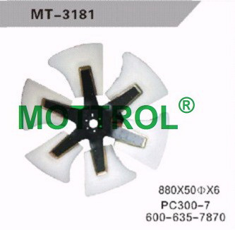 PC300-7 FAN BLADE FOR EXCAVATOR
