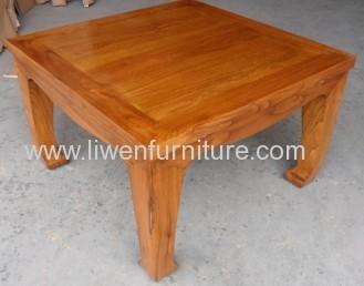 Elm wood coffee table