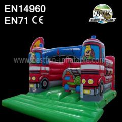 Fire Truck Jumping Castles For Rent