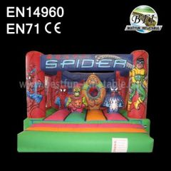 Small Inflatable Spiderman Bounce Houses
