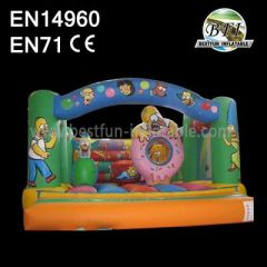 Residential Spongebob Bounce Houses For Sale