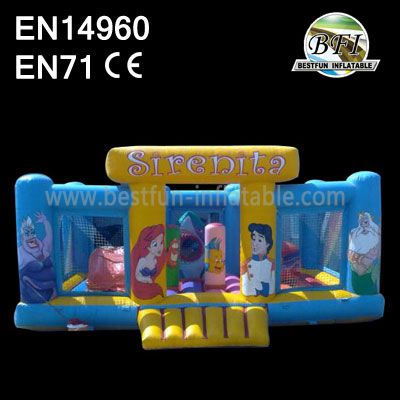 Inflatable Sirenita Bouncy Houses
