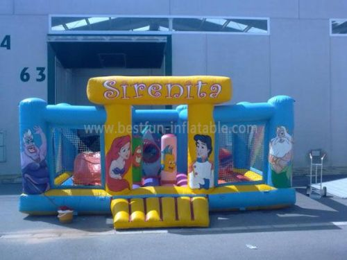 Wholesale Inflatables Sirenita Bouncer Combo