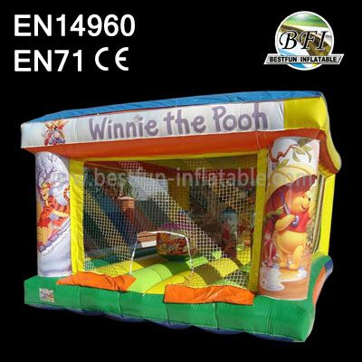 Inflatable Winnie The Pooh Bounce House