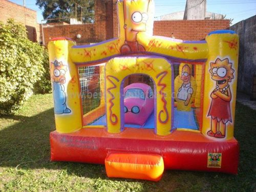 Yellow Toddler Cheap Bounce House