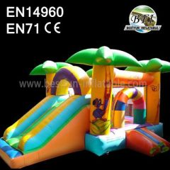Bouncy House With Slide