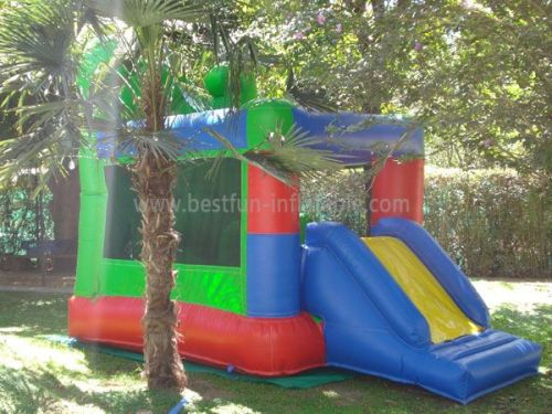 Classic Inflatable Slide Bounce House Combo