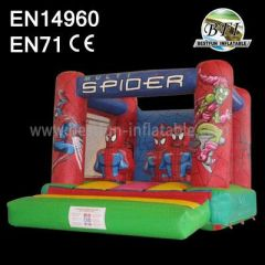 Spiderman Inflatable Jump Castle