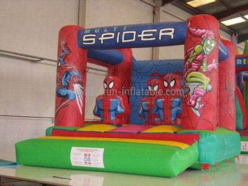 Spiderman Pink Indoor Inflatable Bouncers