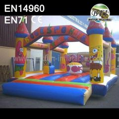 Spongebob Bounce House Castle