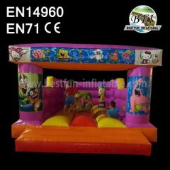 Inflatable Children Spongebob Bouncer