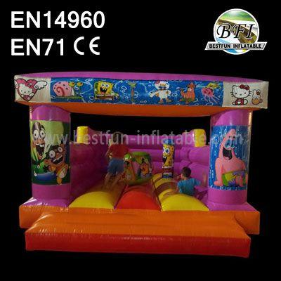 Inflatable Children Spongebob Bouncer
