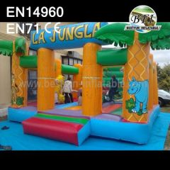 Inflatable Jungle Jump Houses For Sale