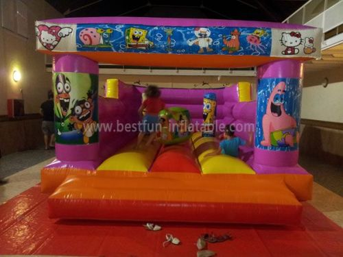 Pink Children Spongebob Inflatable Jumper
