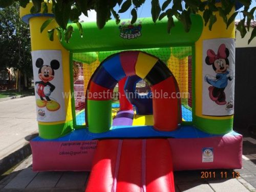 Inflatable Games Mickey Bounce Play House