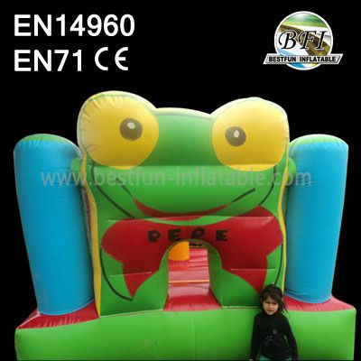 Frog Bounce Inflatable Fun