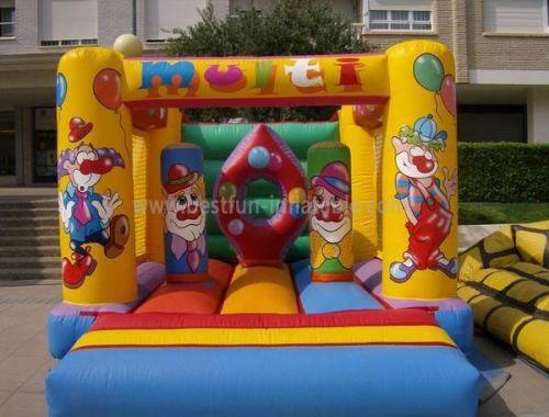 Inflatable Clown Castle Bouncer Moonwalks