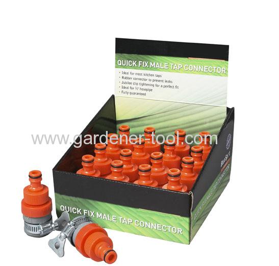 Plastic 3/4soft hose mender to joint 2pcs hose together
