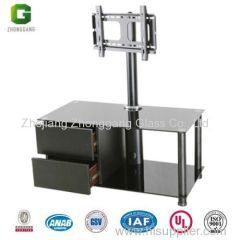 glass tv stand/MDF frame TV Stand